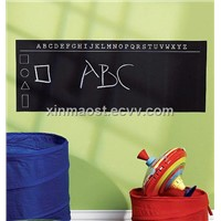 blackboard wall sticker / wall chalkbaord sticker /frige magnet blackboard sticker