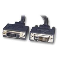cable DVI 24+1 Male TO DVI 24+4 Female