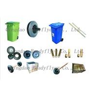 dustbin wheel,wheelie bin wheel,garbage bin wheel