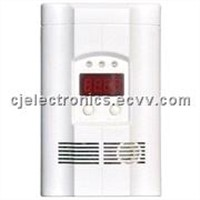 fire alarm-AC Powered Plug-In CO/Gas Combination Alarm