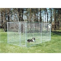 galvanized chain link dog kennel (SGS certificated factory)