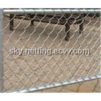 galvanized chain link fence (manufacturer China )