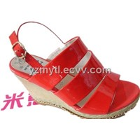 red sexy ladies shoes lady sandals
