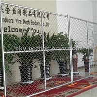 Galvanized / PVC Coated Temporary Mobile Fence