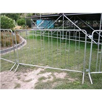 temporary security fence for construction (PVC coated )