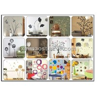 wall sticker/ wall decals/ living room decorative wall stickers/ reusable wall stickers