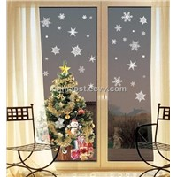 window sticker / holiday window decorative sticker