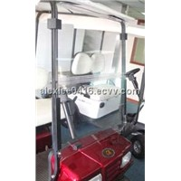 windshield for golf cart