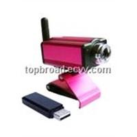 wireless webcam, PC USB  camera Transmission range 100 Meters China origin (TB-webcam08)