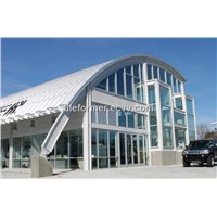 car parking shade with steel fabrication and installation