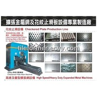 checker plate forming machine