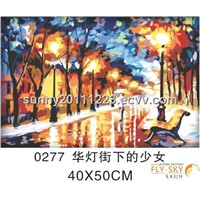 decorative landscape oil painting for home decoration(40*50cm)