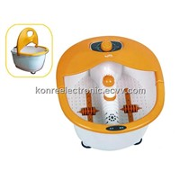 infrared bubble vibration foot bath spa massager