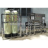 1T/H RO water purification plant, two stage purifier