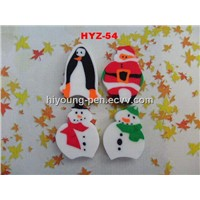 4pcs eraser as a set(HYZ-54)