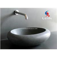 Granite bowl stone wash bowl andesite basin LD-D001