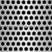 Round Hole Galvanized Punching Metal