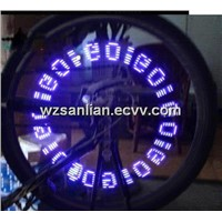 SL507 tyre flashing light, LED wheel bike light