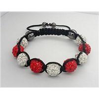 10mm Shamballa Bracelet With Disco Ball 2008011