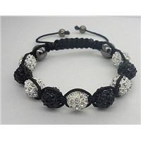 10mm Shamballa Bracelet With  Disco Ball 2008012