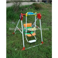 2012 Luxury Foldable Baby Swing with Foot Stand and Music
