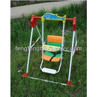 2012 Luxury Foldable Kids Swing with Foot Stand and Music