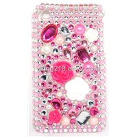 2012 latest fashionable 3D Crystal case for iphone