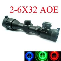 2-6x32AOE Rifle Gun Scope