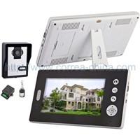 7 inch wireless video door phone and intercom system