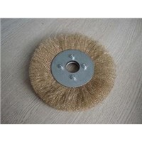 Brush,Wheel,Crimped Wire / Round brush