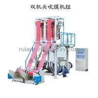 Competitive Price Double-Head Film Blowing Machine Set (SJ-DH)