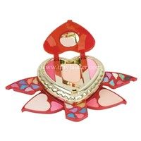 Dinmeibao Cosmetic Makeup Kit With Heart Shape
