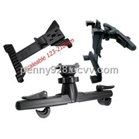 Good Quantity Car Headrest Mount Holder Stand for Apple Ipad & Galaxy Tab and all Tablet PC