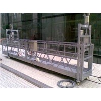 Hanging Scaffold Rope Suspended Platform for 500 / 630 / 800 / 1000 kg