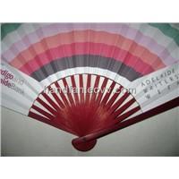 Japanese paper promotion fan, paper promotion fan