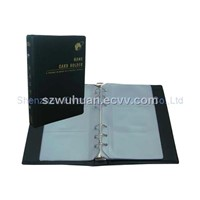 Namecard holder with address book