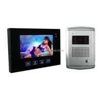 New 7inch Touch Screen Video Doorphone + Night Vision Camera