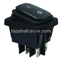 Omniseal two gears,three gears,2pin,3pin illuminated rocker switch(ship-type switch)
