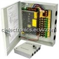 Power supply- CJ-TX05 12V 20A 18CH output power supply for CCTV