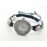 Quality Shamballa Watch Bracelet Czech Crystals Disco Balls