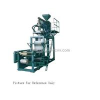 SD-H Elevator Rotary Die Head PP Film Blowing Machine
