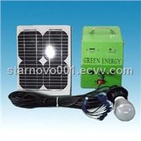 Solar Power System for home lighting