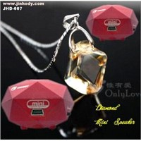 Super Hot!! Fashion Diamond Portable Mini Speakers