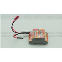 6VDC 1600mAh AA NI-MH Battery Pack Remote Control Vehicle Ship Plane