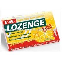 Throat  Lozenge (Drop mints in blister pack)