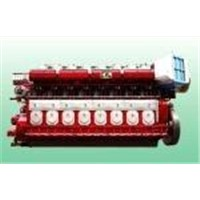 V28/33D V32/44CR Four Stroke Diesel Engine Generator Set for Offices Hosipital