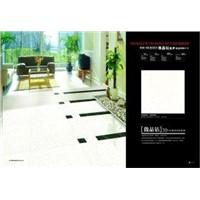 Water Absorption: 0.1 - 0.5% Super White Black Polished Ceramic Tile Nano