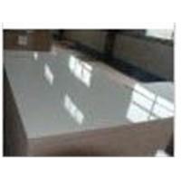 White glossy HPL plywood