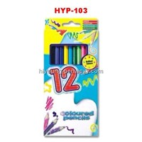 color pencil 12pcs set 12 colors(HYP-103)