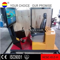 excavator training simulator with CE